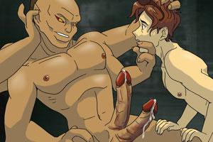 Mortal Kombat battle for the hardest dick
